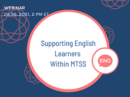 Supporting English learners - Claudia webinar