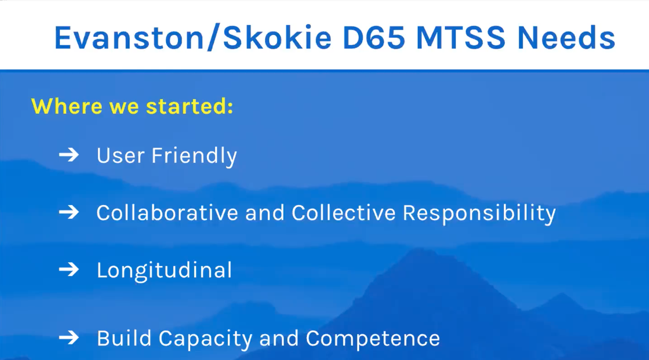 On Demand Webinar - RTI / MTSS Coffee Hour with Evanston-Skokie SD 65