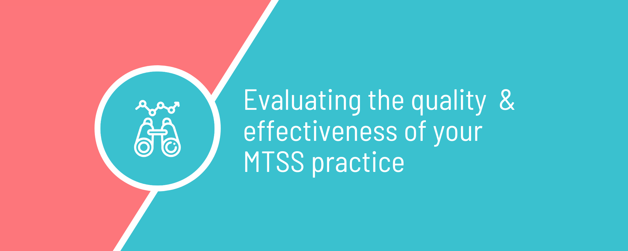 Webinar - Evaluating the Quality and Effectiveness of your MTSS Practice