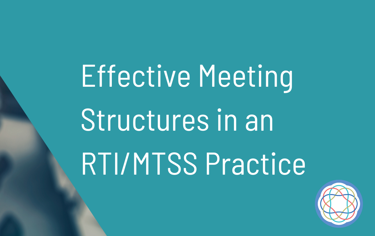 Effective meeting structures